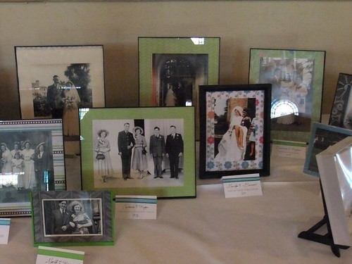 Wedding Family Photo Display