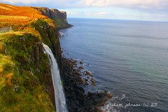 Kilt rock waterfall (EXPLORED) (gmj49) Tags: skye rock scotland waterfall kilt sony gmj topshots a350 worldwidelandscapes natureselegantshots panoramafotografico theoriginalgoldseal flickrsportal