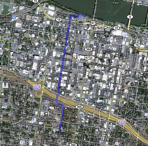 State Street Bikeway Map