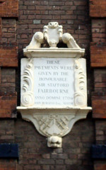 Photo of White plaque number 8522