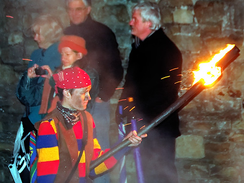 Battel bonfire boyes procession