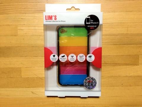 iPhone4S レインボーケース