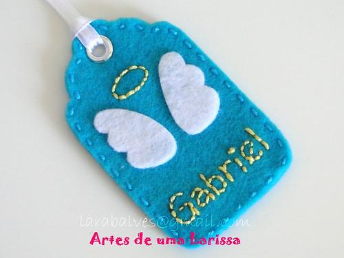 Tag Anjo by Artes de uma Larissa