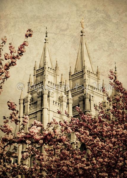 Salt Lake Vintage LDS Temple Prints -7