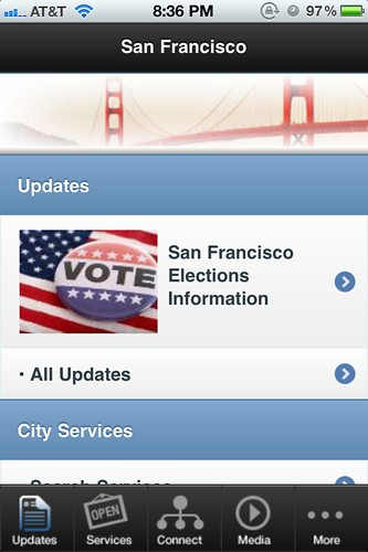 SF.gov iOS app