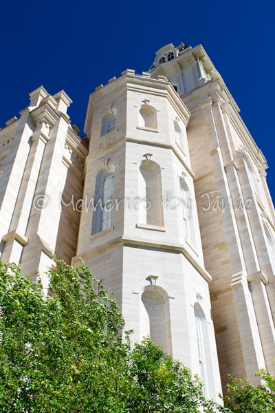 Manti Vintage LDS Temple Prints -4521