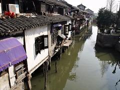 Zhujiajiao (JUMBOROIS) Tags: china travel water river asia shanghai xina zhujiajiao  fangshengbridge kezhigarden qingpudistrict zhjijiozhn zhufamilysettlement yuanjinbuddhisttemple