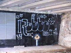 Robbo Tribute (JOHN19701970) Tags: uk november england streetart london wall graffiti canal stencil paint artist camden banksy spray flame spraypaint tribute graff aerosol 85 camdentown inc regents candel spraycan robbo 2011