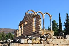 Anjar, Umayyad city, al-Walid I, 705-15, great palace (2) (Prof. Mortel) Tags: lebanon umayyad anjar