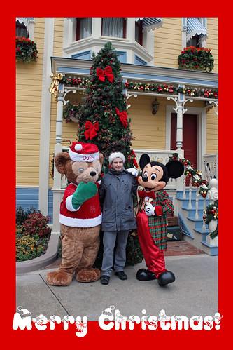 Sam with Duffy & Mickey