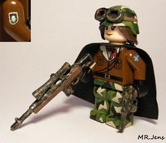 Anna Kampman, post apoc military survivor LEGO (MR. Jens) Tags: world rust war post lego sweden military wwiii swedish custom survivor nuke m14 apoc c96 brickarms