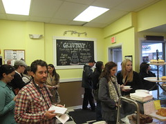 Bloggers at Gluuteny Bakery