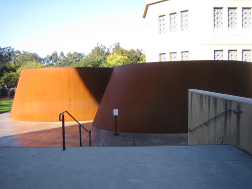 Sequence, Steel, Richard Serra, Cantor Art Museum, Stanford University, California _ 0665