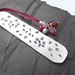 Garden metal themed stamped bookmark