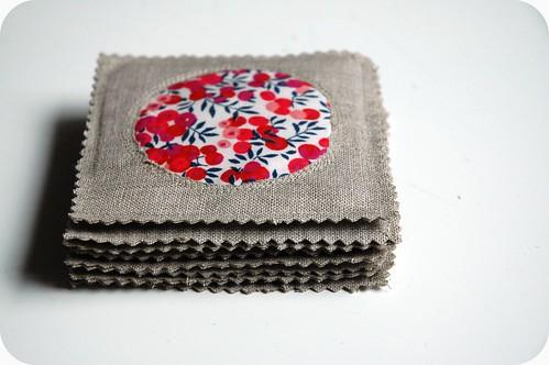 Liberty mug rugs