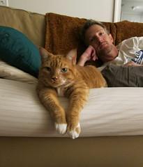 my kitty and my cutie (redjoe) Tags: redjoe joehorvath