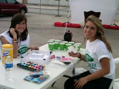 """Campaign volunteers Cheslea and Emily • <a style=""""font-size:0.8em;"""" href=""""http://www.flickr.com/photos/65105168@N06/6377190853/"""" target=""""_blank"""">View on Flickr</a>"""