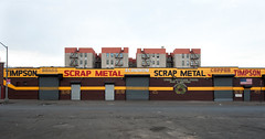 Timpson Scrap Metal: Hunts Point, Bronx (Chris Arnade) Tags: new york city point bronx hunts huntspoint thewaywelive chrisarnade