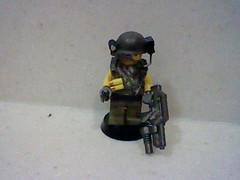 Family Bricks Colonial Marine Trooper. (cooltrex) Tags: family lego bricks brickarms brickforge familybricks