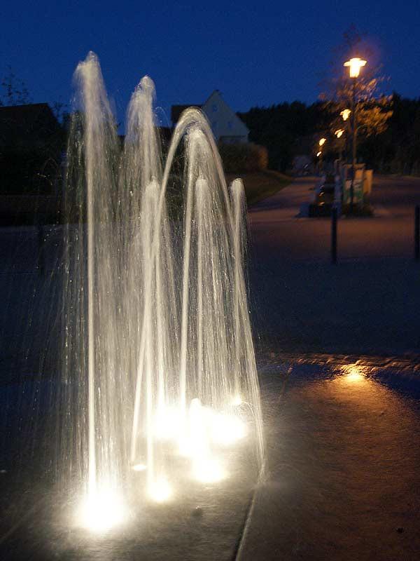 Springbrunnen in Enderndorf am See