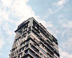 Untitled (richardhwc) Tags: building 120 film mediumformat hongkong pentax kodak 6x7 mongkok portra400 105mmf24