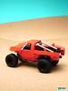 Trophy Truck (ZetoVince) Tags: red car truck greek desert lego offroad suspension vince racing vehicle trophy baja minifig prerunner zeto zetovince dreamdealer