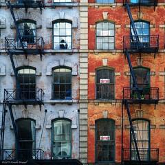 Tribeca Escapes (CVerwaal) Tags: nyc newyorkcity newyork lumix urbandecay panasonic fireescapes panasonicg3 gvario135561442