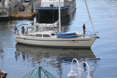 ocean people water sailboat boat dock sails vancouverisland