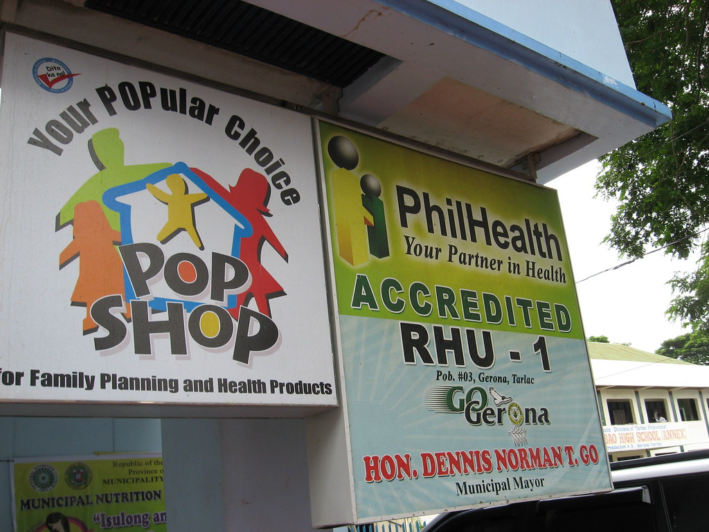 This RHU is accredited by PhilHealth