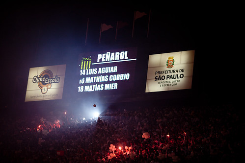 Aguiar - Corujo - Mier   Copa Libertadores de America 2011   Santos  - Peñarol   110615-6900-jikatu 110623-7565-jikatu