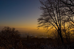 Aachen ::: Sundown and Snow (Jacques_Norris) Tags: snow d50 nikon sundown aachen jonas jacques norris lousberg rter jonasrter jacquesnorris