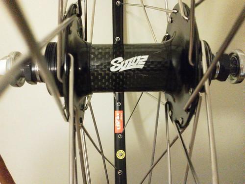Suzue Pro-Max Carbon x UKAI Carbon rim 700c 32h R