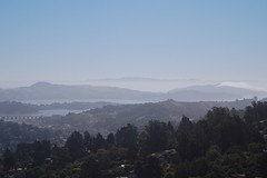 Mt. Tamalpais State Park - Mt. Livermore (Angel Island) and Mt. Diablo