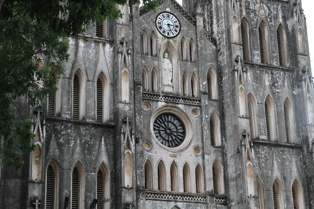 Catholic Cathedral in Hanoi