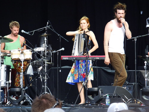 Edward Sharpe and The Magnetic Zeros at Bluesfest 2011