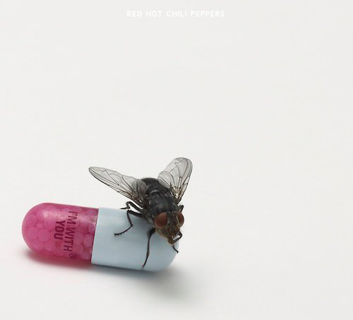 Red Hot Chili Peppers new album I'm With You, cover designed by Damien Hirst by madnessmag.com
