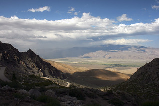 Dust Storm over the Owens Valley