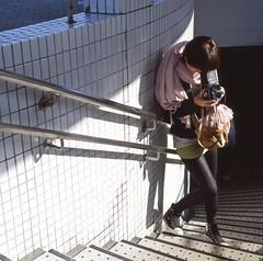 rolleiflex girl (P.H--Jack) Tags: 120 6x6 film japan t kyoto taiwan 100mm hasselblad   cf planar f35  hassy