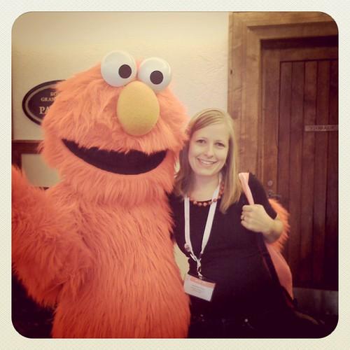 Just met Elmo @evoconf! #evoconf