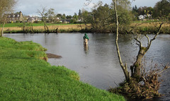 River Teith 2011 (Frank Chapman) Tags: fishing salmonfishing teith riverteith