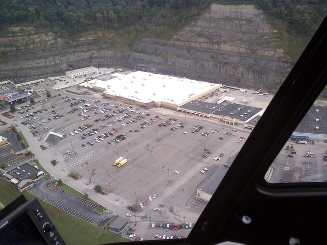 Walmart Store Atop Reclaimed Mining Site