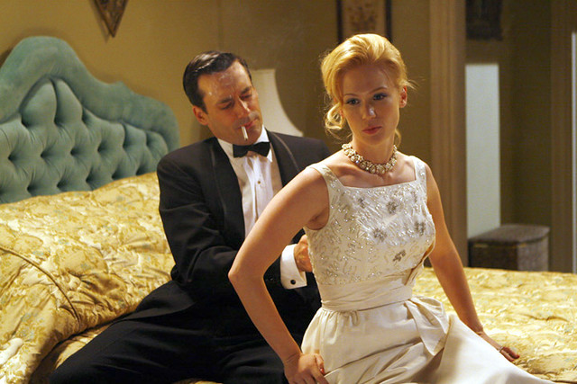 don and betty draper, mad men, 60's style, 48