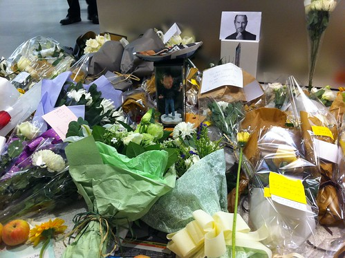 Remembering Steve at Hong Kong Apple Store 