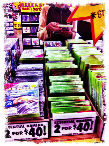 Choosing a game. Day 318/365.