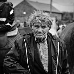 FAIR DAY. (DEGCT) Tags: street ireland portrait horses bw horse irish candid character fair characters tradition waterford tallow thedefiningtouch deftouch degct