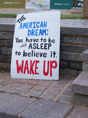 Image of Occupy OKC protest sign