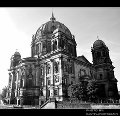 Berlin Cathedral (Berlin, Germany) (kantevaphotography) Tags: blackandwhite berlin architecture germany europe cathedral image bn capture berlindom brandeburg nikondd90 kantevaphotography