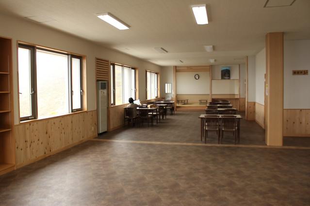 津軽岩木スカイライン駐車場のトイレ