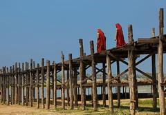 Spots of red (Tati@) Tags: wood burma monks myanmar teak amarapura ubeinbridge taungthamanlake mygearandme mygearandmepremium mygearandmebronze mygearandmesilver mygearandmegold mygearandmeplatinum mygearandmediamond