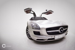 Just Can't Get Enough | SLS AMG [Explored] (Tareq Abuhajjaj | Photography & Design) Tags: auto light white black cars car speed photography lights mercedes design photo big high nikon flickr power wheels dream fast f1 mercedesbenz saudi arabia manual carbon fiber rims riyadh v8  sls amg drift 2010 supercharged v12 ksa  tareq       d700     foilacar tareqdesigncom tareqmoon tareqdesign  abuhajjaj